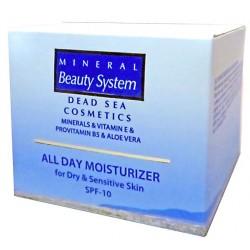 Увлажняющий дневной крем для лица для сухой и чувствительной кожи SPF-10 Mineral Beauty System