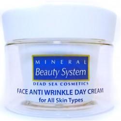 Дневной крем для лица от морщин для всех типов кожи Mineral Beauty System