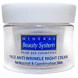 Ночной крем для лица от морщин для нормальной и комбинированной кожи Mineral Beauty System