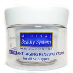 Антивозрастной восстанавливающий дневной крем для всех типов кожи Mineral Beauty System