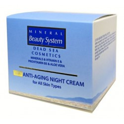 Подтягивающий ночной крем для всех типов кожи Лифт Mineral Beauty System