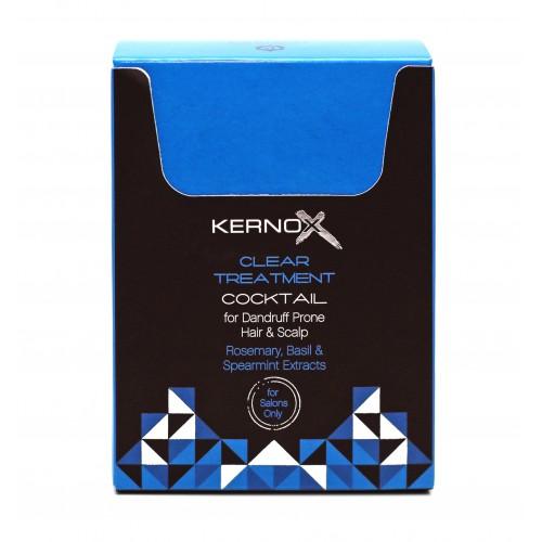 Коктейль для очищения и ухода за кожей головы, подверженной образованию перхоти, себорее и контактному дерматиту Egomania Kernox