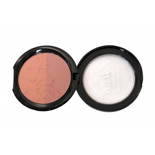 Румяна «Blush Multicolor Peach Melba» палитра: 2 оттенка Aqua Mineral