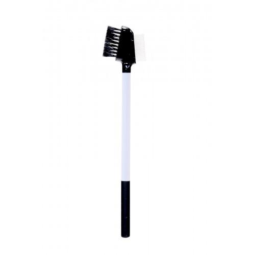 Кисть-расческа №10 для бровей и ресниц Комбинированная Aqua Mineral