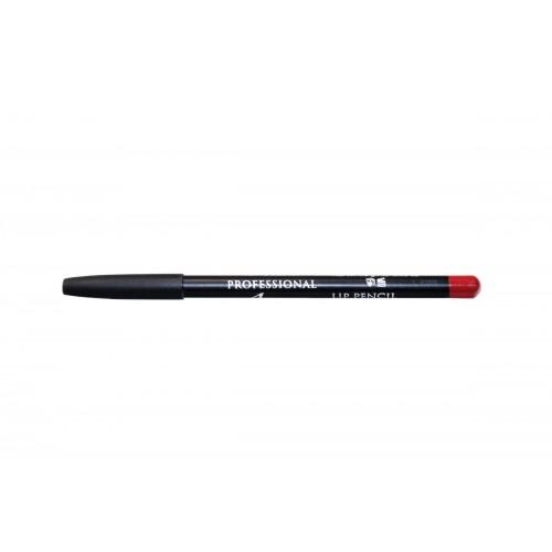 Карандаш для губ контурный красный Lip Pencil Red Aqua Mineral